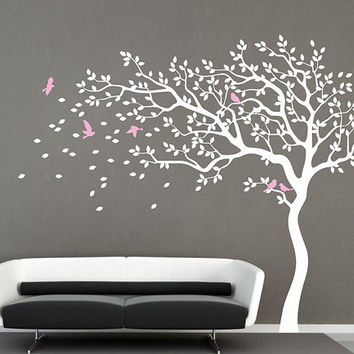 tree wall decal nursery wall decal wall from iwalldecals on etsy
