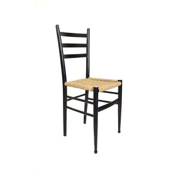 gio ponti chair gandia blasco clack shop chairs on wanelo pre owned style ladder back italian side