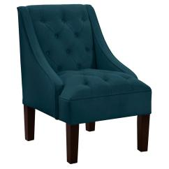 Dark Teal Chair High Back Dining Chairs Uk Isabelle Swoop Arm From One Kings Lane