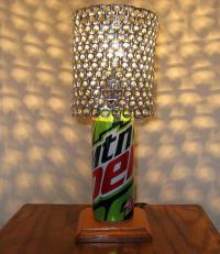 Mountain Dew Soda Can Lamp with Pull Tab from ...