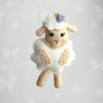 Cute Cheerful Por Themes For Baby Nursery Limited Editions Items Polkadots Sheep Clean Clear Looks