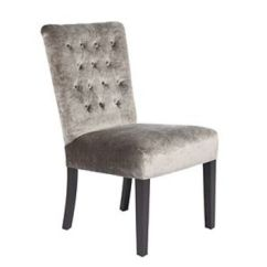Z Gallerie Chairs Geri For Elderly Lola Side Chair Pewter Gold Dining From Home Room Furniture