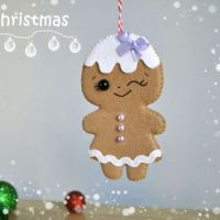 Shop Cute Felt Ornaments on Wanelo
