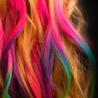 set of 24 colored hair chalk premium from liltutuprincess on