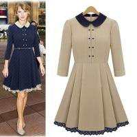 Casual Dress With Collar from claytonladuerotary.org