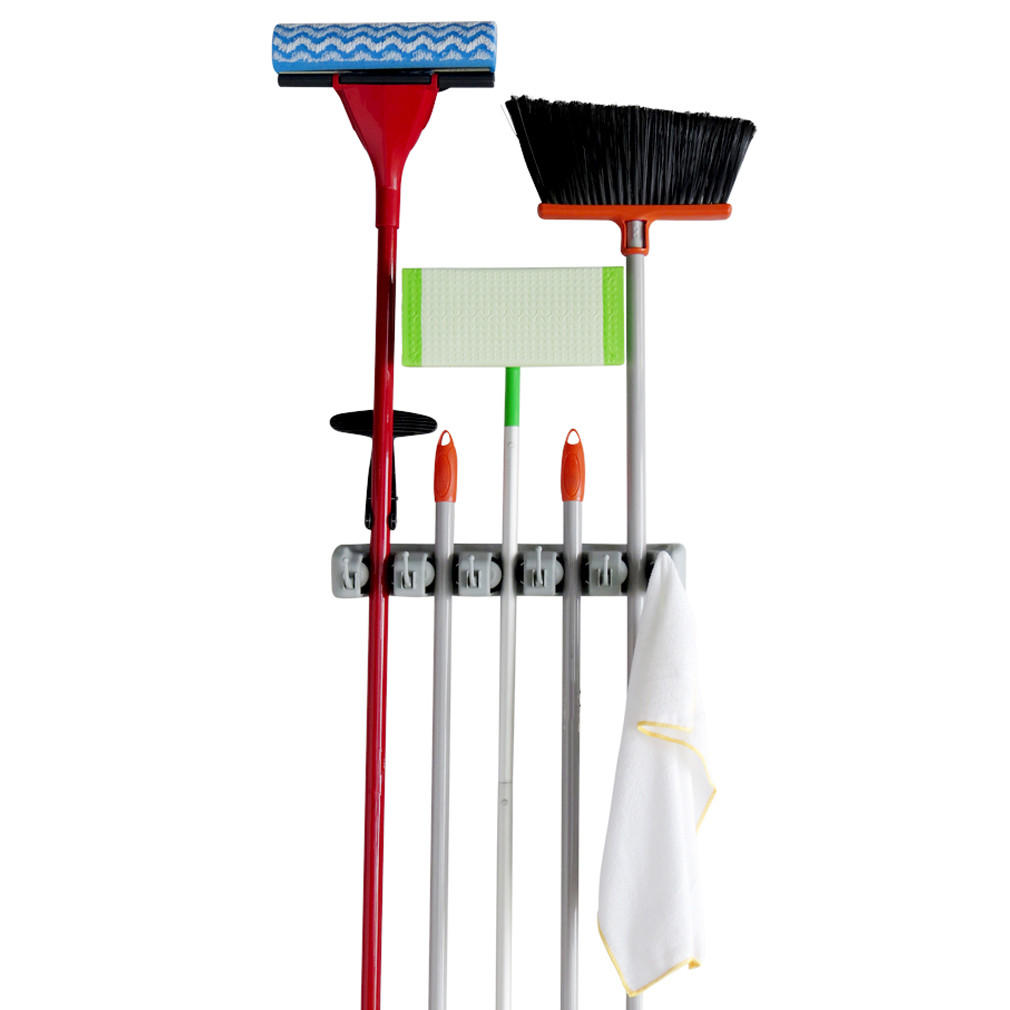 Evelots Mop And Broom Holder 5