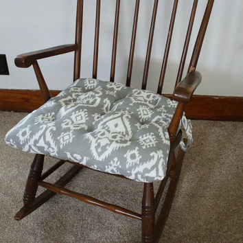 windsor rocking chair cushions massage chairs for less ikat from mayberryandmain on etsy pads glider rocker replacement wooden