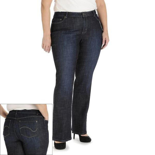 Lee Modern Fit Curvy Bootcut Jeans - Kohl' Clothes