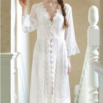 Best Vintage Lace Robes Products on Wanelo