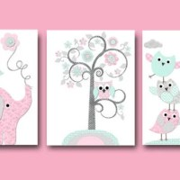 Elephant Nursery Giraffe Nursery Wall from artbynataera on ...