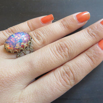Best Antique Opal Rings Products On Wanelo