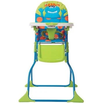 cosco high chair cover upholstered desk target boy elephant wall art baby blue from trm design |