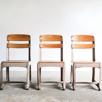 Best Vintage School Chair Products on Wanelo