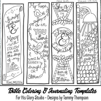 Free Printable Bible Bookmarks To Color Sketch Coloring Page