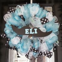 Shop Baby Shower Wreath on Wanelo
