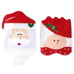Christmas Chair Covers Ebay Fabric Office 2pcs Mr Mrs Santa Claus Indoor From Bling Deals
