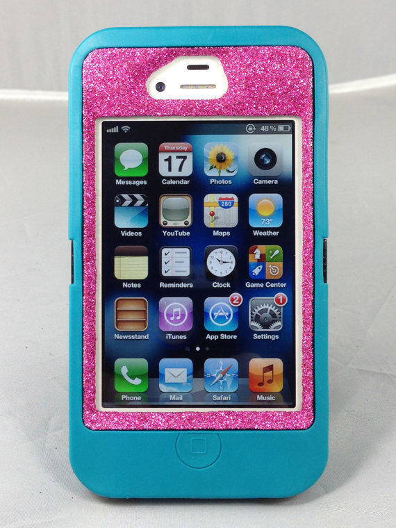 Otterbox Case iPhone 44S Glitter Cute from 1WinR  iPhone