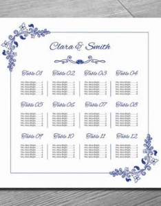 Wedding seating chart template printable seatin also best products on wanelo rh