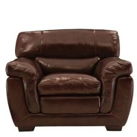 Bryant II Leather Power-Reclining Sofa from Raymour & Flanigan