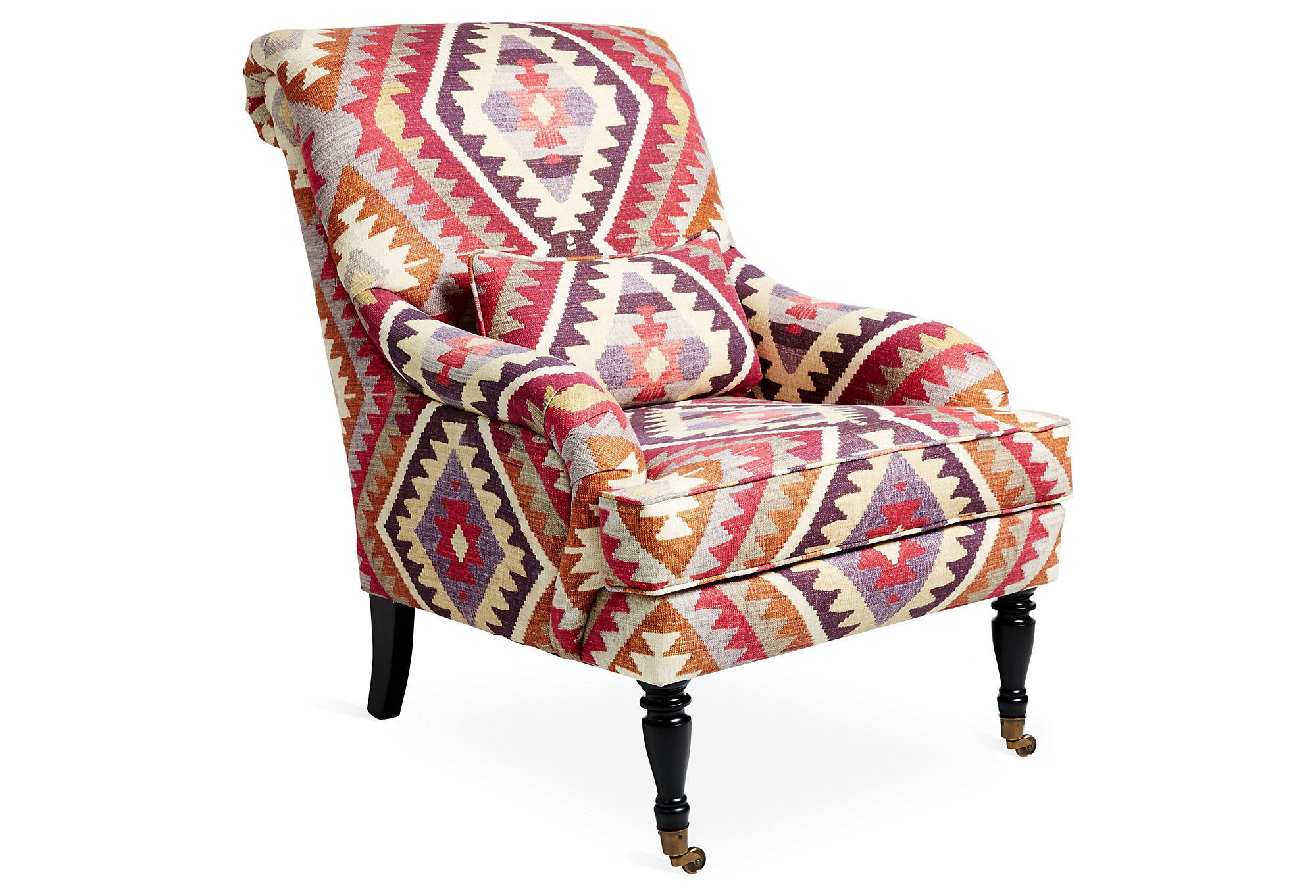 Aztec Chair Oxford Chair Magenta Aztec Accent And From One Kings Lane
