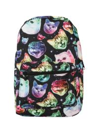 Neon Cats In Space Backpack from Hot Topic | School