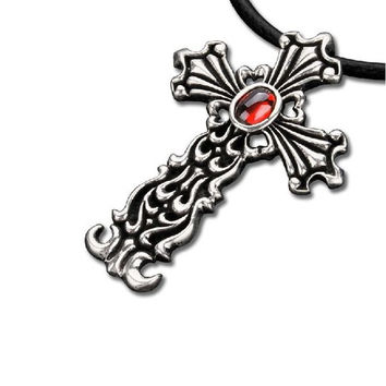 Best Leather Cross Necklaces For Men Products on Wanelo