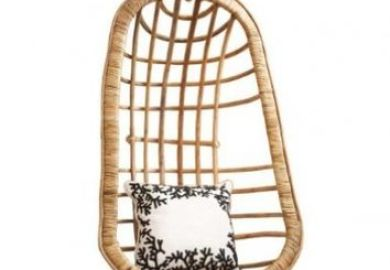 Two S Company Hanging Rattan Chair Amazon