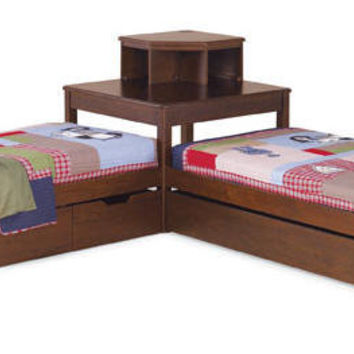 kidkraft red vintage kitchen 53173 how to redesign a rothwell chase corner bed from totally kids fun furniture ...