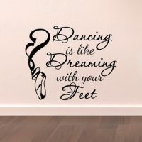 Dance Wall Decal Stickers Dancing Is Like from ...