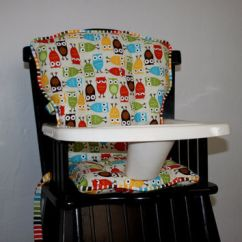 Eddie Bauer High Chairs White Armless Office Chair Birch Organic Elk Family From Mayberryandmain On Custom Urban Zoologie Bermuda Owls Pads Cover Highchair