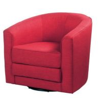 Dania - Accent Chairs - Theva Swivel from daniafurniture.com