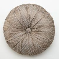 Shop Round Tufted Pillow on Wanelo