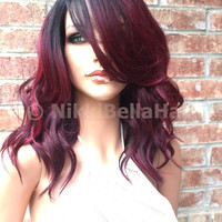 Fashion Wigs 70CM Long Multi Color Curly From Fashion
