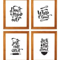 Shop Kitchen Wall Art Sets on Wanelo