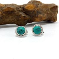 Shop Tiny Turquoise Studs on Wanelo