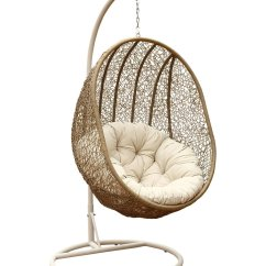 Adult Egg Chair Sailcloth Beach Chairs Abbyson Living Lamport Swinging From Gilt Things I