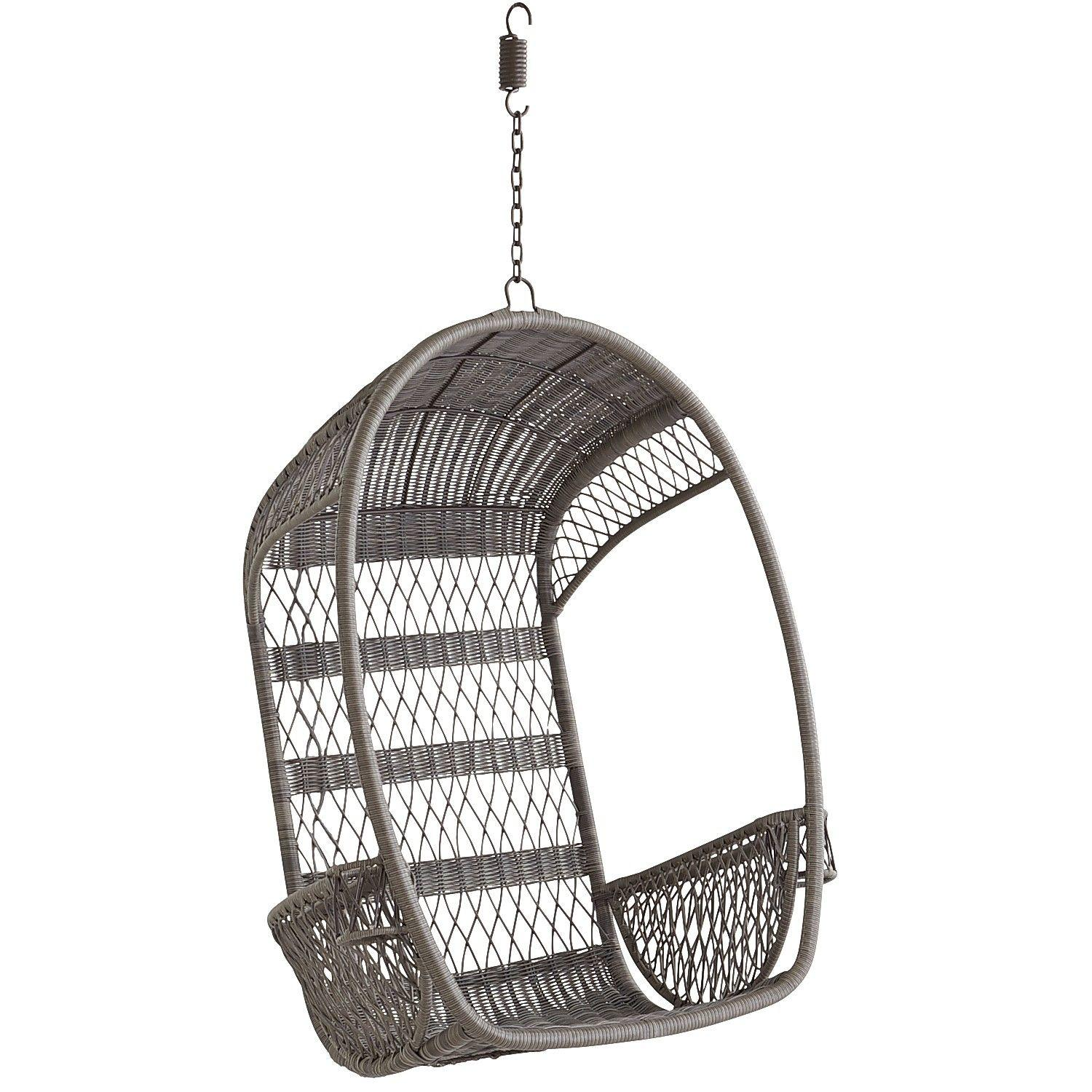 swing chair pier one toddler time out with buckle swingasan gray 299 95 from 1 imports