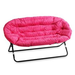 Double Saucer Chair Black Jazzy Select Power Idea Nova In Pink From Bed Bath Beyond Zebra