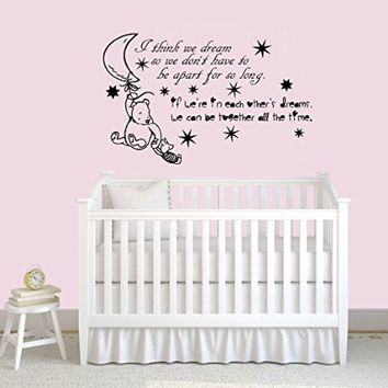 Wall Decal Design Amazing Winnie The Pooh Decals For Nursery Home Living Decoration Ideas Free Shipping