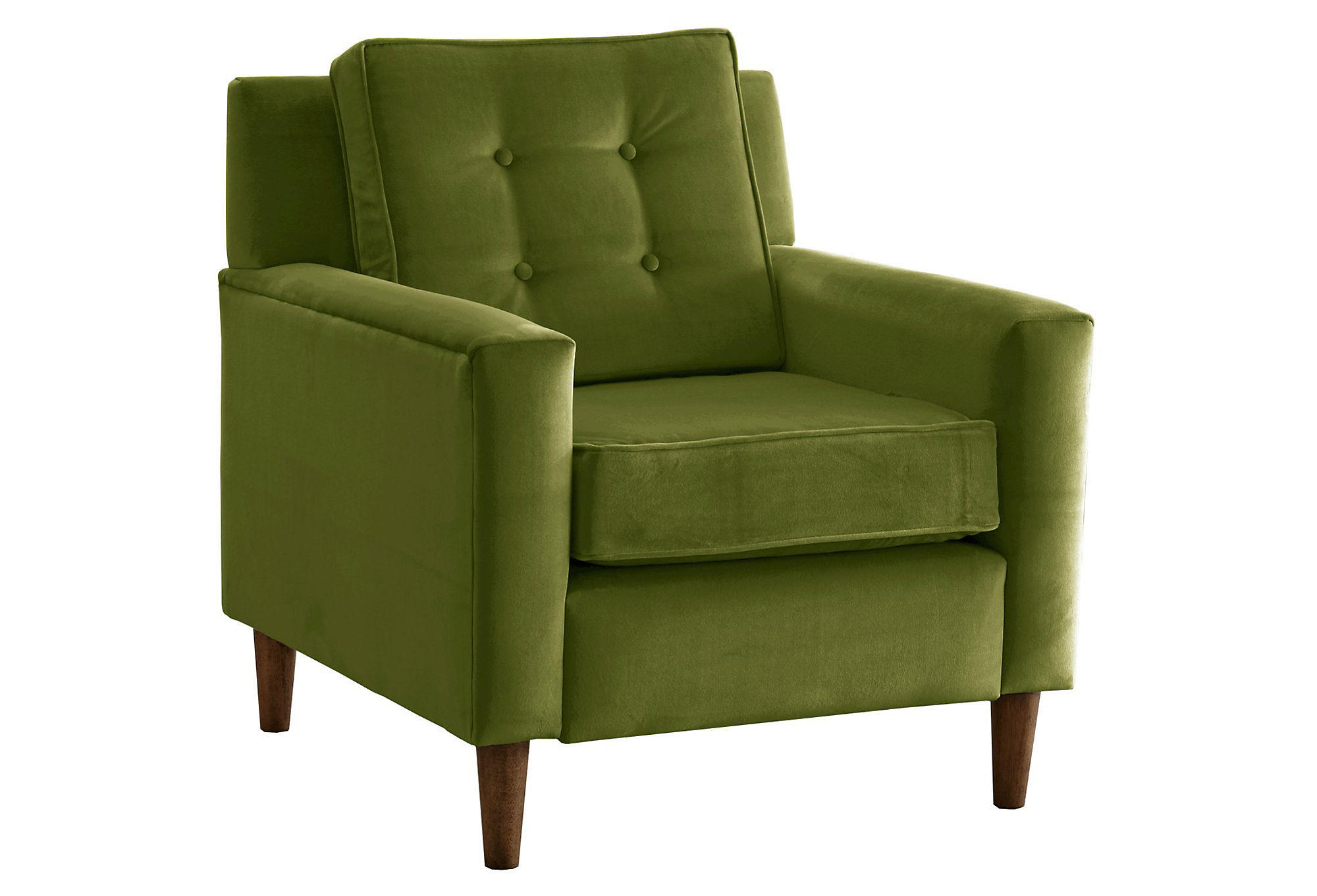 one kings lane chairs as chair rental winston velvet accent apple green from