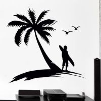 Shop Sunset Wall Decal on Wanelo