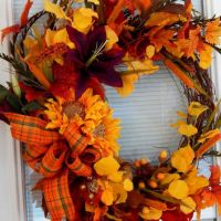 Best Fall Wreaths For Front Door Products on Wanelo