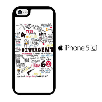 Shop Divergent iPhone 5c Case on Wanelo