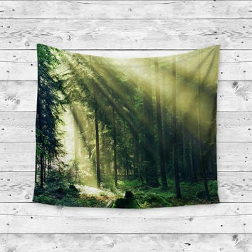 dorm chair covers etsy zero gravity outdoor chairs light into the woods forest trees from trippygypsyshop on wanderlust boho gypsy unique home decor wall ar