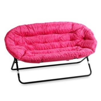 Idea Nova Double Saucer Chair In Pink From Bed Bath & Beyond