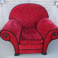 Blues Clues Upholstered Red Thinking from indianaonline on ...