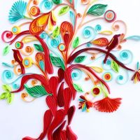 Tree of Life - Unique Paper Quilled Wall from ...