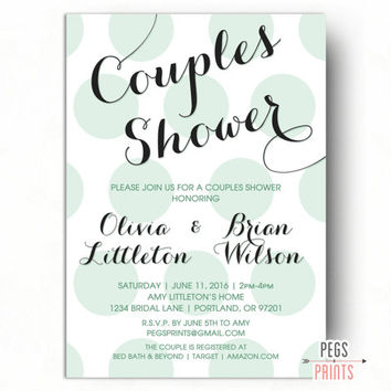 Invitation Wording For Couples Wedding Shower Yaseen