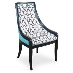 One Kings Lane Chairs Wicker Dining Argos Turquoise Deco Side Pair From