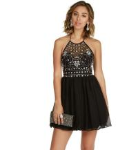 Danni-black Homecoming Dress from Windsor